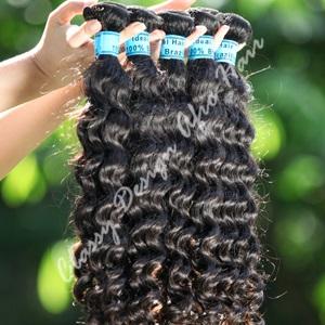 Brazilian deep weave hair
