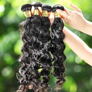 Peruvian deep weave hair