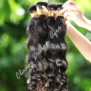Peruvian loose weave hair